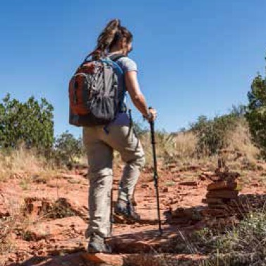 Improving Health by Hiking, Walking, Being Outdoors
